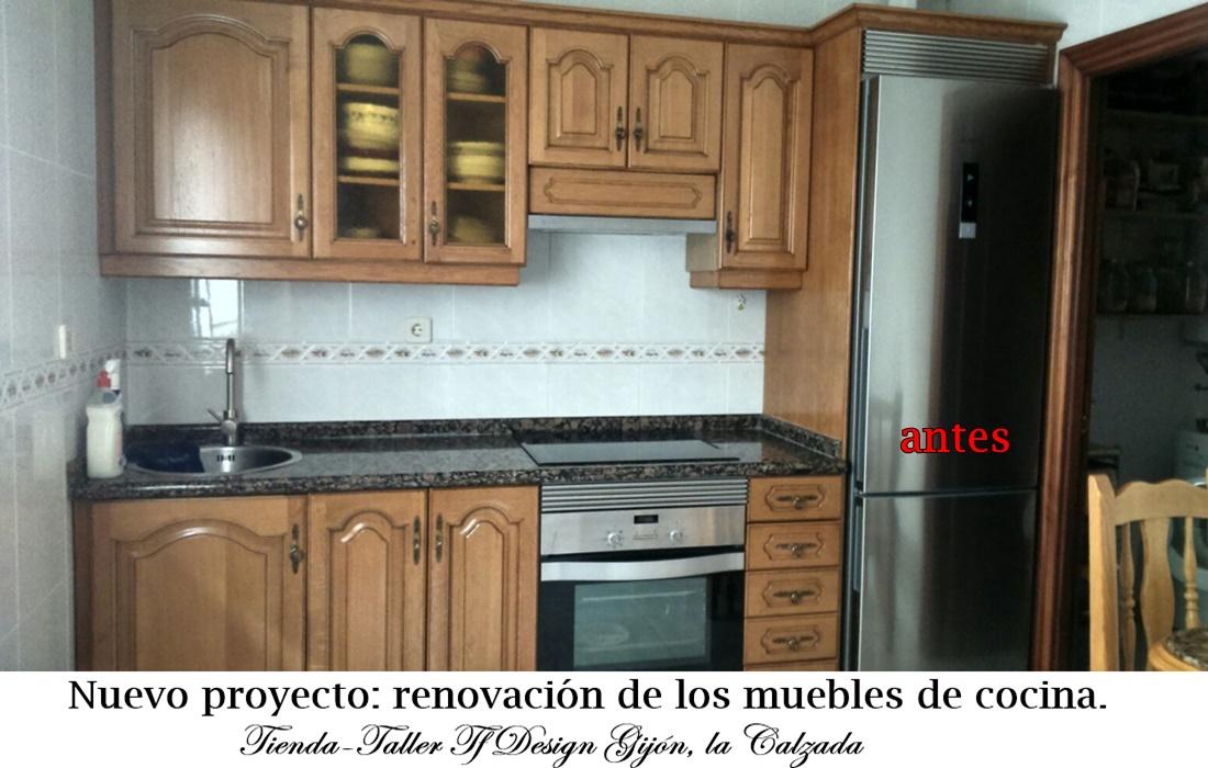 Muebles De Cocina Pintados. Stunning Trendy Interiores Decoracion ...