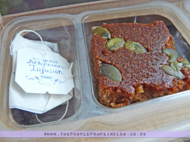 graze box - nature delivered {Pumpkin & Ginger Cake with an Afternoon Infusion}