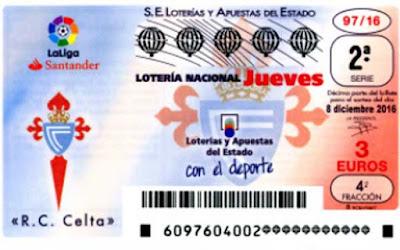 Resultado del jueves 8 de diciembre de 2016 en la lotería