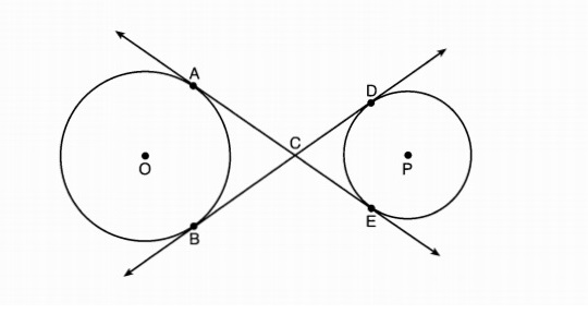 X why august 2016 common core geometry regents part 2 to circles o and p at a e b and d as shown in the diagram below if acce 53 and bd 56 determine and state the length of cd ccuart Gallery