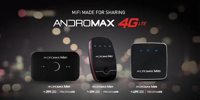 Fungsi MI-Fi andromax Smartren