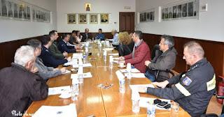 Δελτίο Τύπου Συνεδρίασης του Σ.Τ.Ο. Πολιτικής Προστασίας του Δήμου Πύδνας Κολινδρού