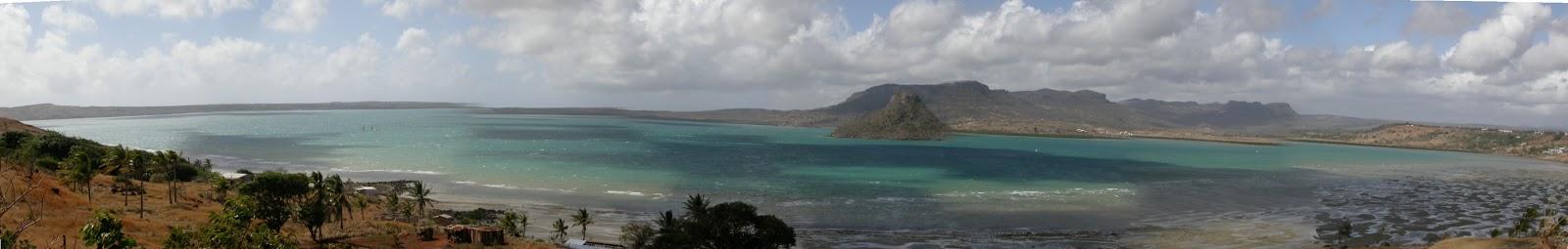 la baie de Diego Suarez un jour de très fort vent