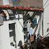 Explosão de gás deixa três pessoas feridas em São Carlos