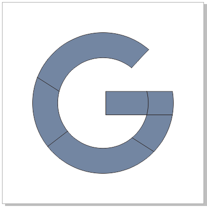 logo favicon favorit icon google simple point