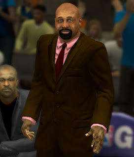 NBA 2K13 Coach Mike Woodson Cyber Face Patch