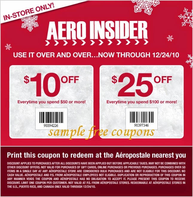 aeropostale coupons printable coupons