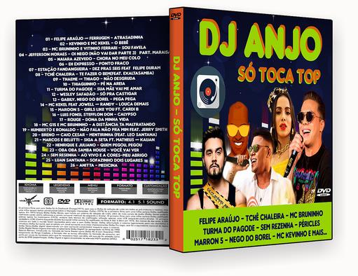 CAPA DVD – Dj Anjo Só Toca Top – ISO
