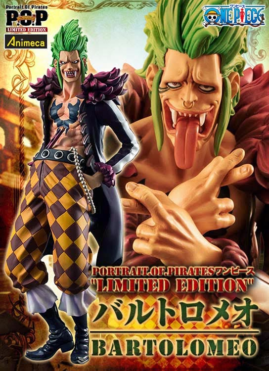 FIGURA BARTOLOMEO LIMITED EDITION EXCELLENT MODEL P.O.P ONE PIECE