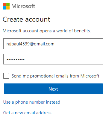 Submit new blog to bing
