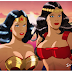 """ After you, Princess.""  Wonder Woman and Big Barda- Dream team-up!"