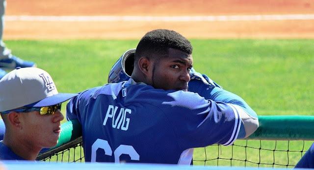 Puig es un estribillo familiar que surgirá a medida que la temporada se acerque. Al igual que la temporada baja pasada, los Dodgers le está pidiendo a su jardinero de quinto año que pierda parte de su masa muscular.