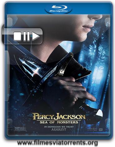 Percy Jackson e o Mar de Monstros Torrent - BluRay Rip 720p e 1080p Legendado (2013)