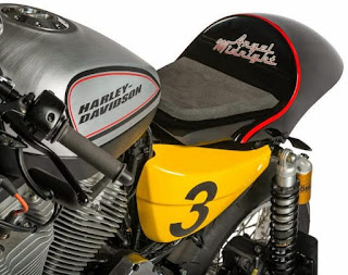 xrcr xr1200 cafe racer by shaw speed engine left angle