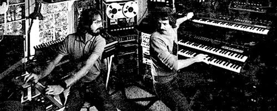Zdjęcie: Alan Howarth (po lewej) pomagał reżyserowi dodać słuchowej grozy do jego stylowych obrazów na ekranie