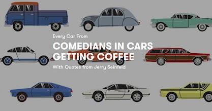 Comediams In Cars Getting Coffee Jay Leno