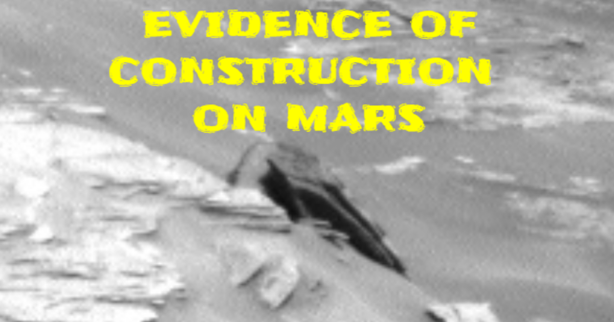 Real Evidence Of Building Construction On Mars 👽🛸