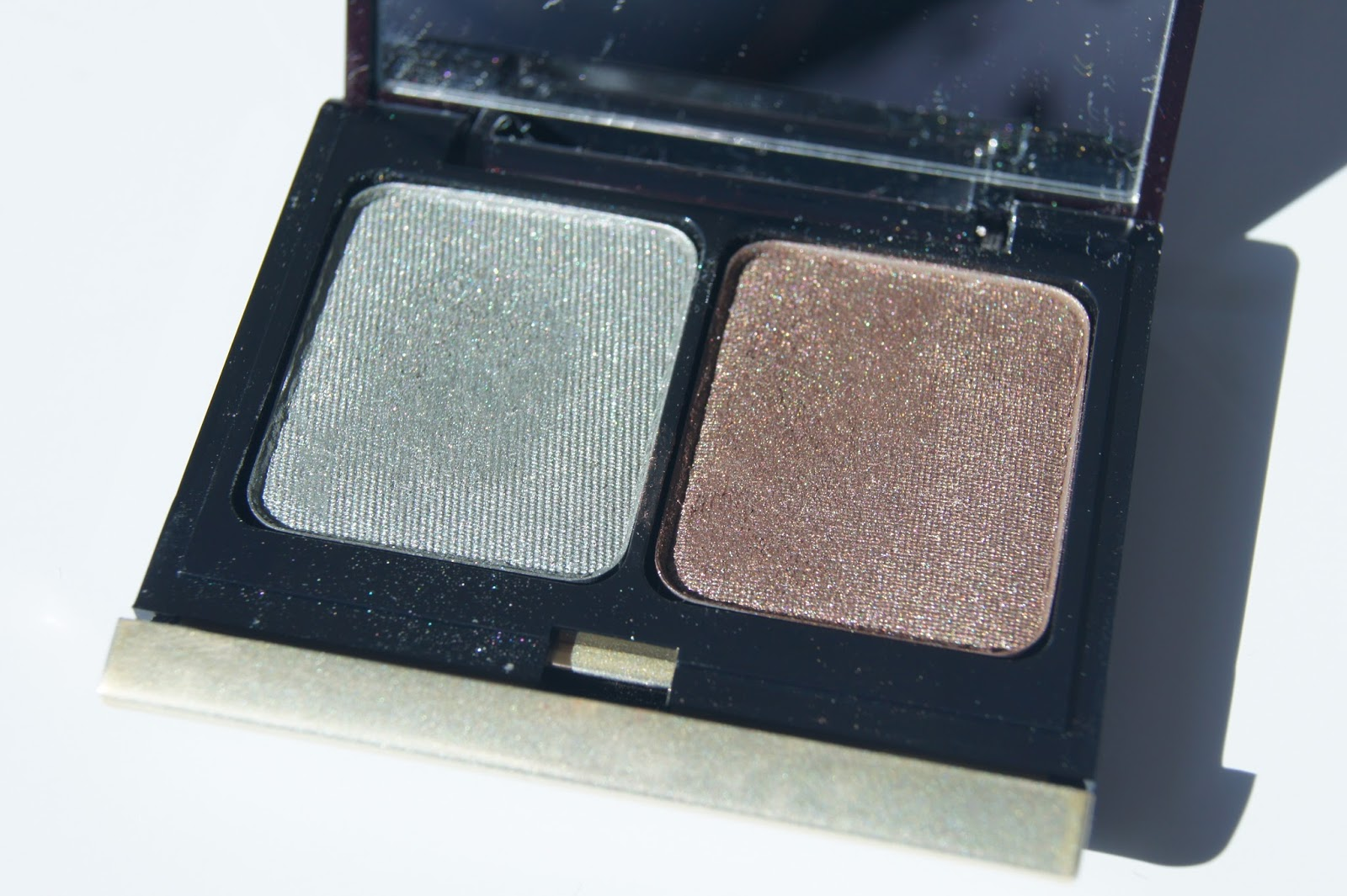 Kevyn Aucoin The Eyeshadow Duo In Frosted Jade Bronze And