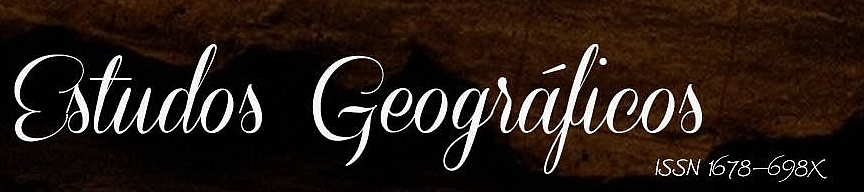 ESTUDOS GEOGRÁFICOS