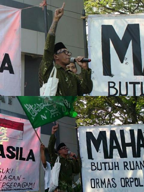 Ada yang Aneh dalam Deklarasi Pelarangan Ormas Orpol di Kampus ISI Yogyakarta