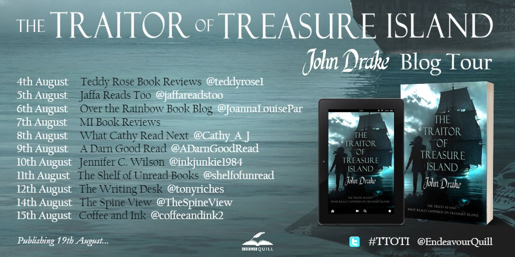 The Traitor of Treasure Island Blog Tour