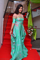Anisha Ambrose sizzles in cute Green Anarkali Dress at Fashion TV F Club Saloon Launch ~  Exclusive 002.JPG