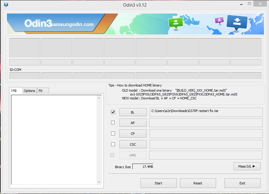 G570F(J5 prime) restart only solved  - Online GSM Fix