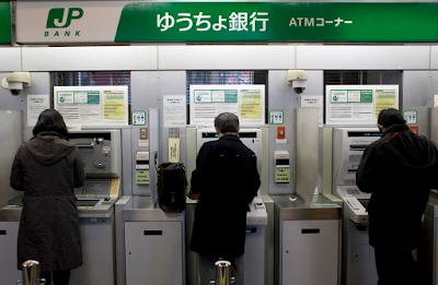 Saitama Rakuten International Says Japan Post Bank Faces Negative Rates Hit