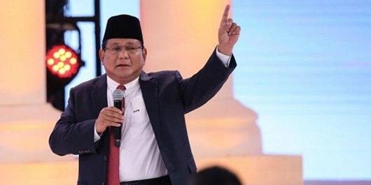 Diserang Ma'ruf 1% Elite Kuasai Aset, Prabowo: Saya yang Cinta Tanah Air!