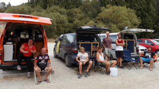 Freedom campers staying in unsafe environments