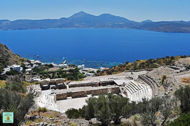 Anfiteatro romano, isla de Milos (Grecia)