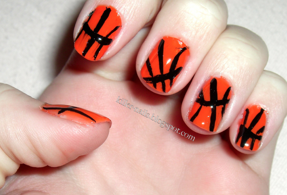 Killer Nails: Basketball Nails