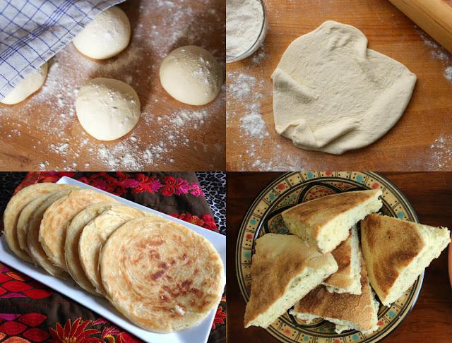 طريقة سهلة ورائعة لعمل خبز الطاجين الجزائري بسرعة في المنزل!