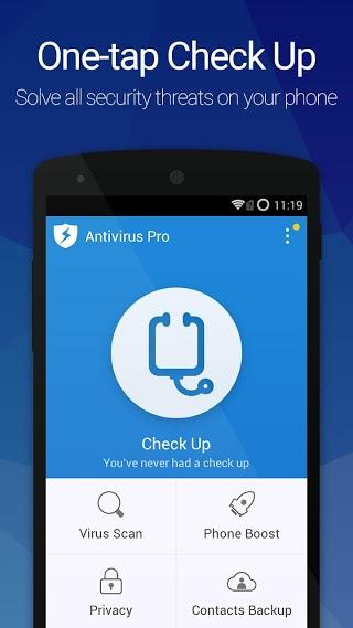 Download Antivirus Pro—Android Security v7.1.02.00 APK Gratis