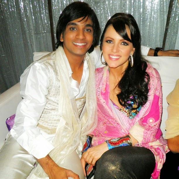 me & yana gupta in jhalak set, Yana Gupta Hot Pics From Real Life