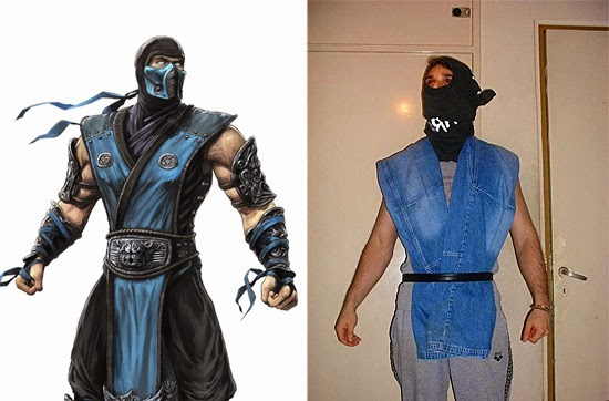 Cosplay Fail- Subzero