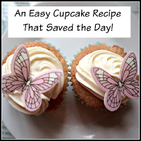 Decorated cupcakes with title overlaid.