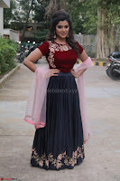 Actress Aathmika in lovely Maraoon Choli ¬  Exclusive Celebrities galleries 031.jpg