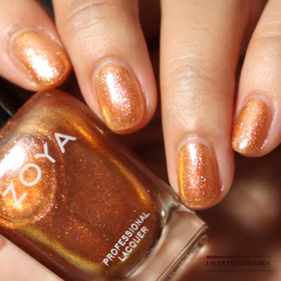 Nail polish swatch and review of Zoya Nadia from the winter 2017 Party Girls collection