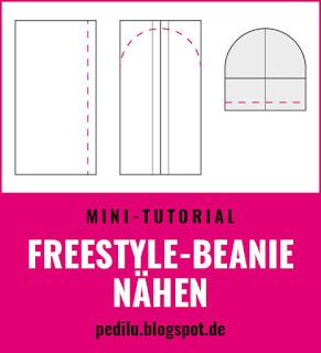 Tutorial: Freestyle Beanie nähen (pedilu)