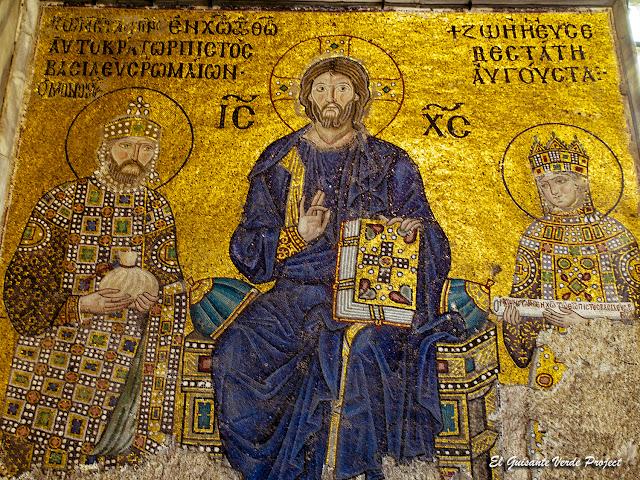 Mosaico Santa Sofía, Estambul por El Guisante Verde Project