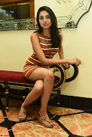 Actress Nikhita in Spicy Small Sleeveless Dress ~  Exclusive 007.JPG