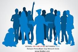 Jadwal Job Fair Expo Disnaker Jatim September 2016, GRATIS!