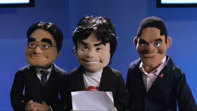 Muppets Nintendo Digital Event Iwata Miyamoto Reggie