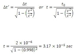 TIME DILATION EXAMPLE PDF