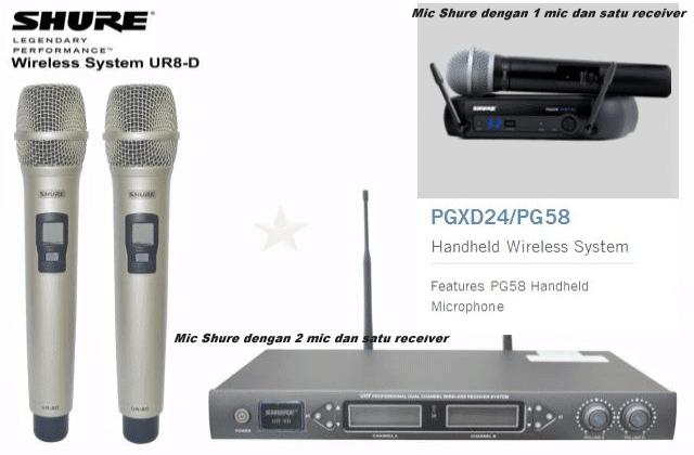 Harga Mic Wireless Karaoke