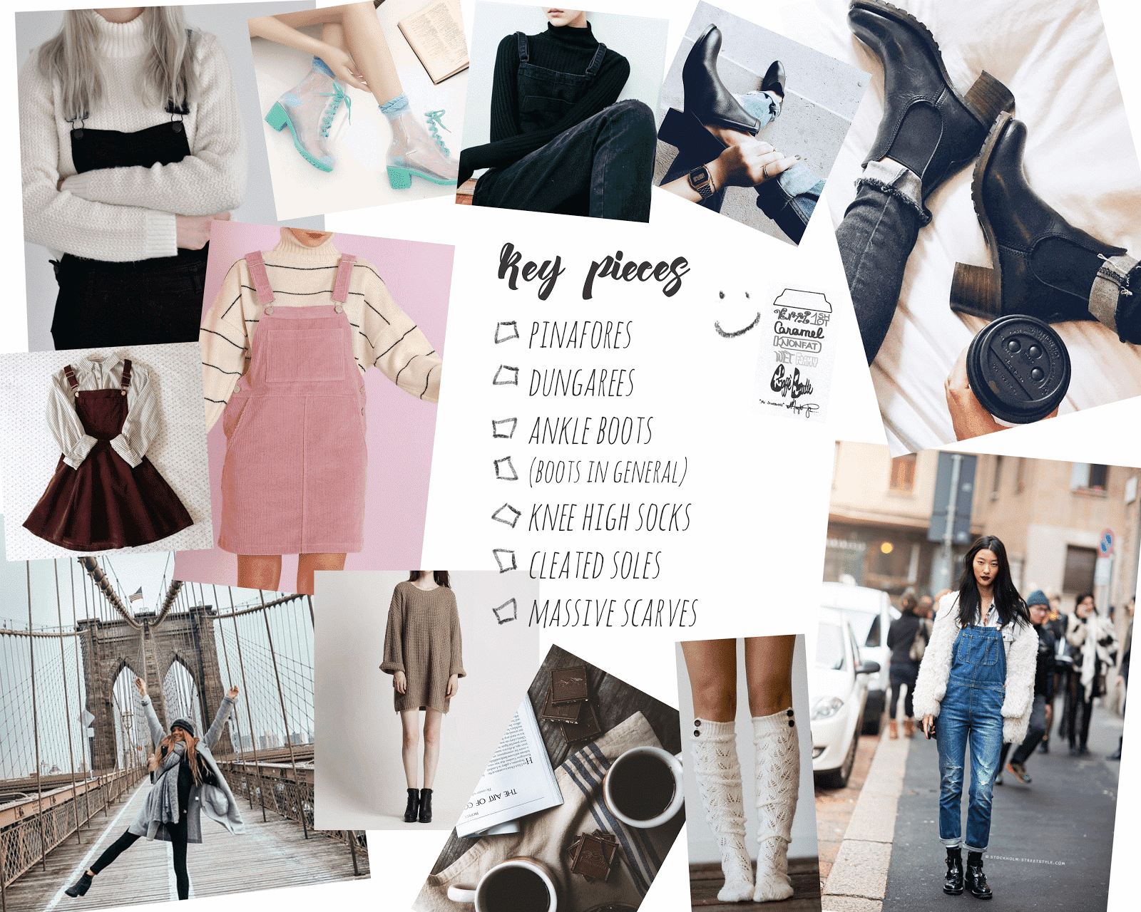 autumn fall outfit inspiration moodboards