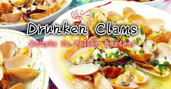 Recipes: Drunken Clams - I Blog My Way