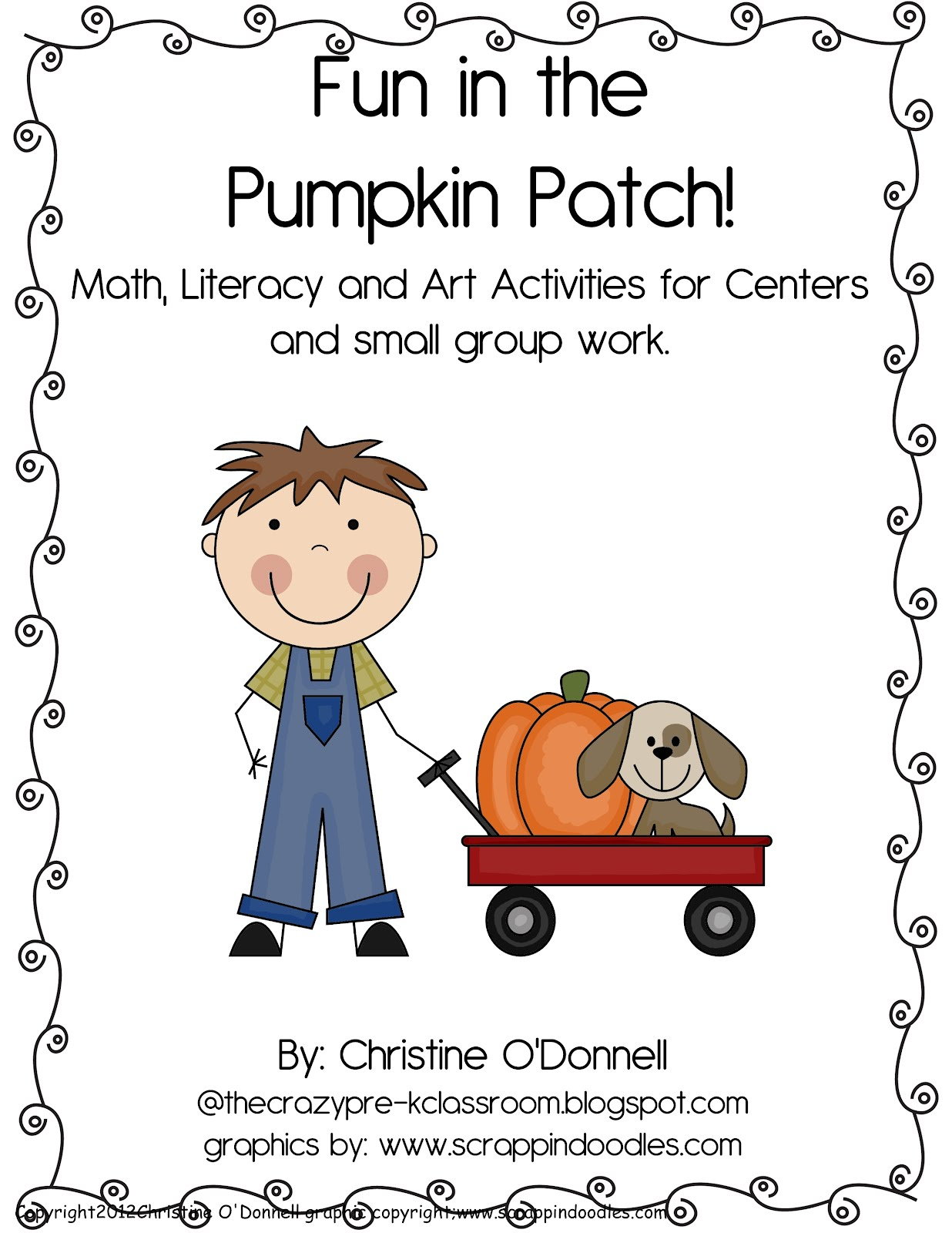 The Crazy Pre K Classroom Fall Freebie Fall Themed Abc
