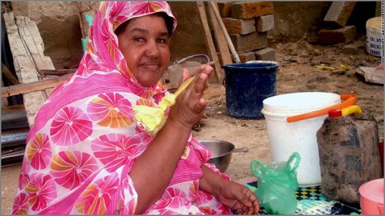 Девушки Мавритании
